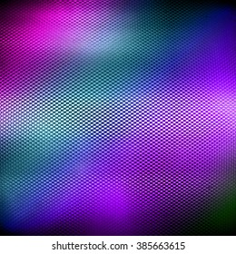 colorful metal mesh background