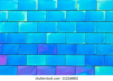 Colorful Metallic Panel Tiles