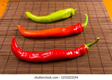 a colorful mix of the freshest and hottest chili peppers