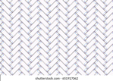 Colorful mosaic herringbone pattern for textile, design and backgrounds
