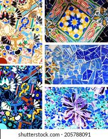Colorful mosaic suitable as background