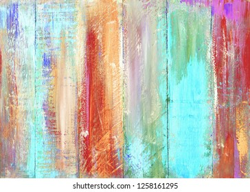 colorful multi painted color wood wall texture background, Christmas tone color background