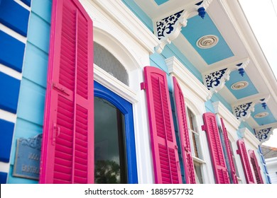 Colorful New Orleans, Louisiana Architecture and Homes