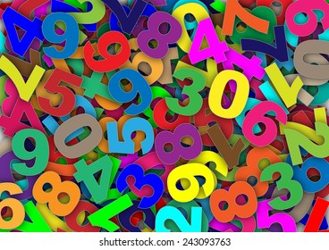 Colorful numbers in confusion