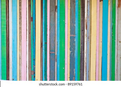 colorful old wood texture background