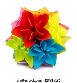 Colorful origam