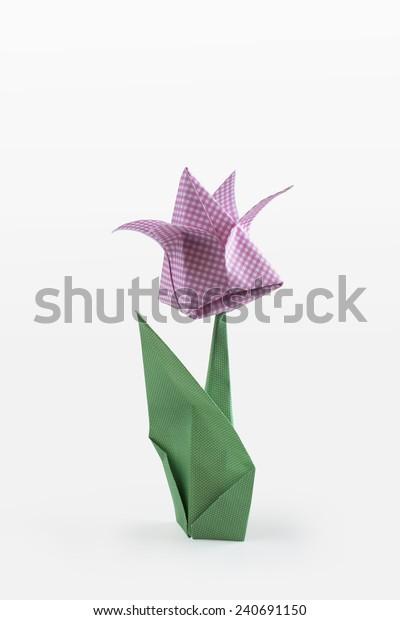 DIY Origami Tulip Garden Scene | Diy origami, Arts and crafts for ... | 620x400