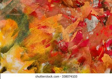 colorful painters palette background texture