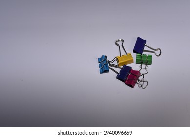 Colorful Paper Metal Clips for holding Paper Together