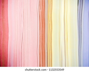 Colorful Paper Stack Background
