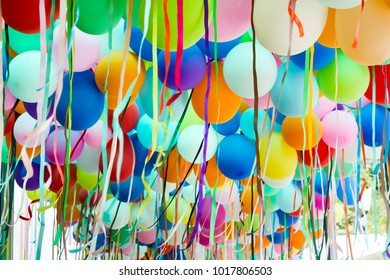 Colorful party balloon For party activities, entertainment, celebrations