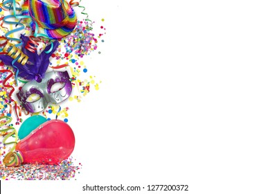 Colorful party decoration
