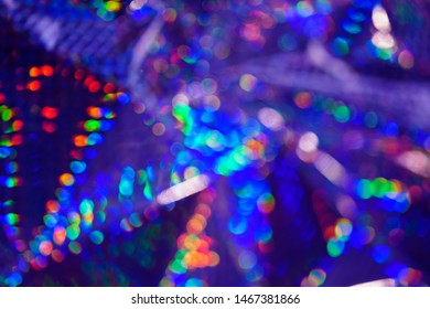 colorful patterns formed by light on prismatic paper colorful abstarct background