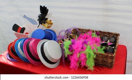 Colorful Photo Booth Props