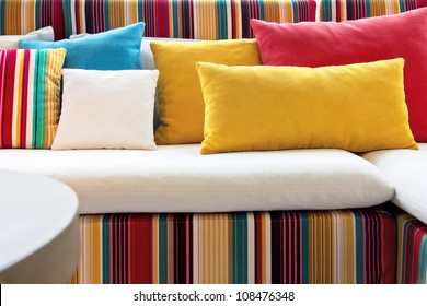 colorful pillow