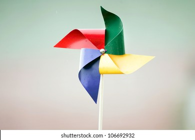 Colorful pinwheel