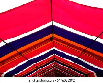 Colorful plastic cloth shelving, Taiwan