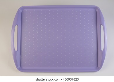 Colorful plastic tray