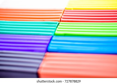 colorful plasticine. abstract background