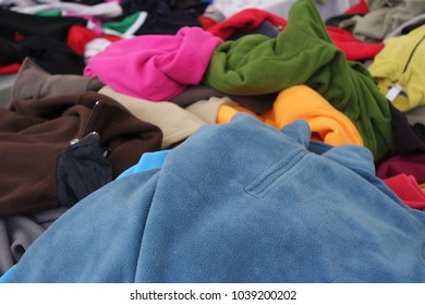 Colorful polar jackets