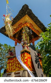 Colorful Preparations for Balinese Temple Festival in Seminyak