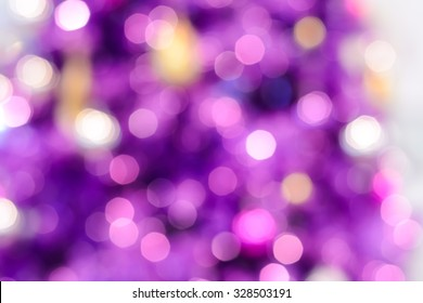 Colorful purple bokeh  abstract background