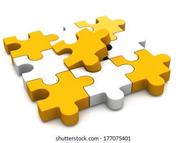 colorful puzzle pieces