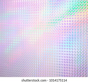 Colorful rainbow color hologram