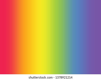 Colorful rainbow gradient blurred background. Gradient rainbow gay concept. LGBTQ transgender symbol and rainbow gradien tbackground