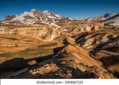 "Colorful ""rainbow"" mountains, Kerlingarfjoll, Iceland"