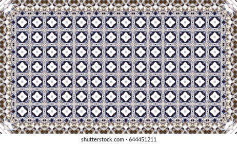 Colorful raster pattern for carpets, table cloths, textile and backgrounds