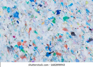 Colorful Recycled Plastic Board Background