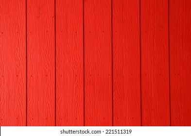 Colorful red wood panels background