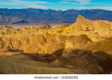 Colorful rock filled desert mountain landscape