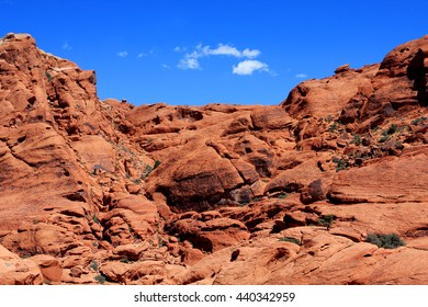 Colorful rocks at the Red Rock Canyon National Conservation Area in Nevada, USA