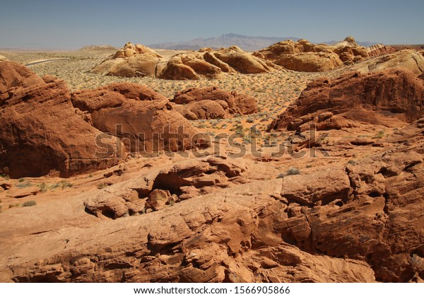 Colorful Rock/Stone Formation in Valley Of Fire, Nevada, USA