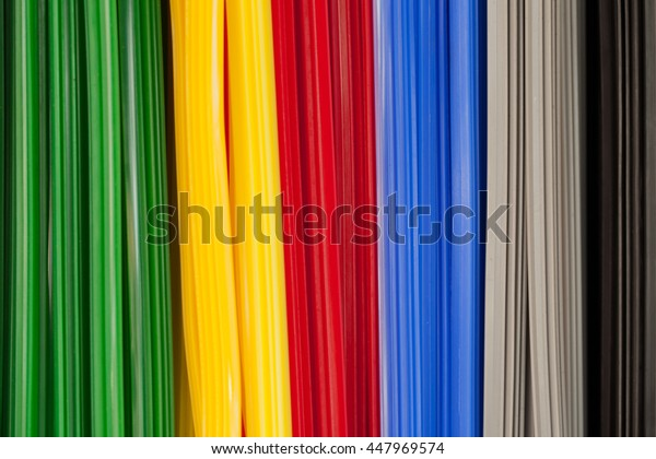 Colorful rubber wiper