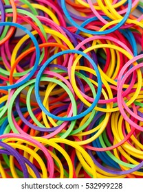 colorful rubberband