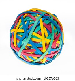 Colorful Rubberband Ball