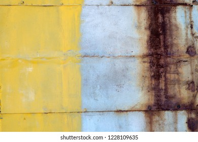 Colorful rustic metal background texture walpaper