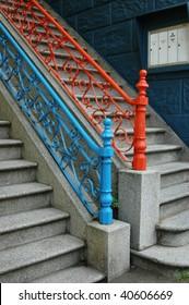 Colorful San Francisco Staircases