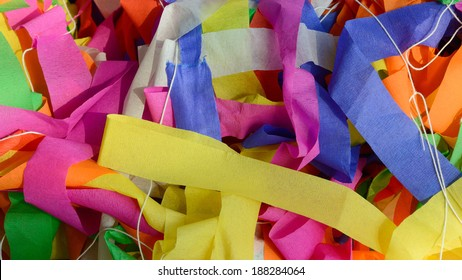 colorful scarp of paper, use for background