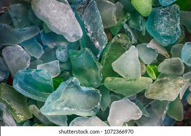 Colorful Sea Glass