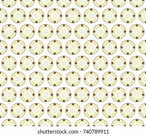Colorful seamless pattern for design and background