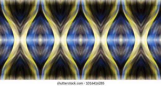 Colorful seamless wavy striped pattern for design and background