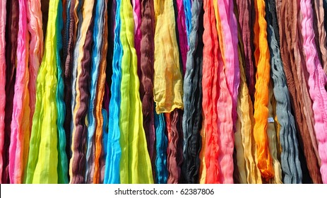 Colorful shawls