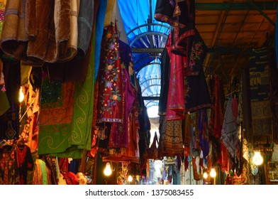 the colorful shuk in the Middle East - Jerusalem