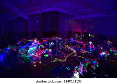 Colorful Silent Disco