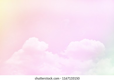 colorful sky abstract background