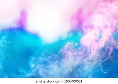 colorful smoke abstract